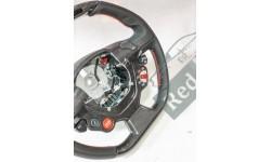 Volant carbone / leds / surpiqures noires Ferrari 458 (82979800)